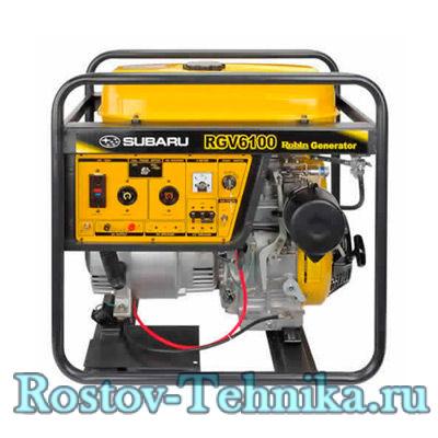 Бензиновый Генератор   Электростанция Robin Subaru RGV6100