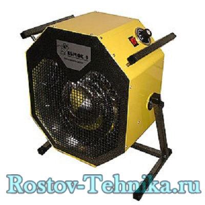 Тепловентилятор Бычок ТВ-9